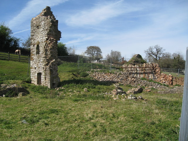 Kingskerswell Manor House (ruins)