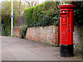J3876 : Pillar box, Belfast by Albert Bridge