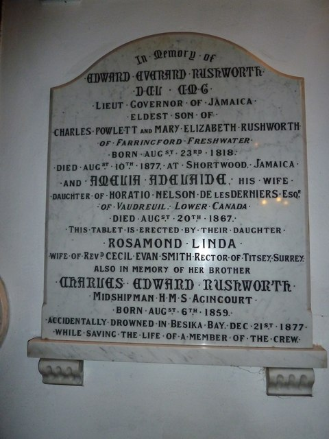 Yarmouth, St James: memorial (3)
