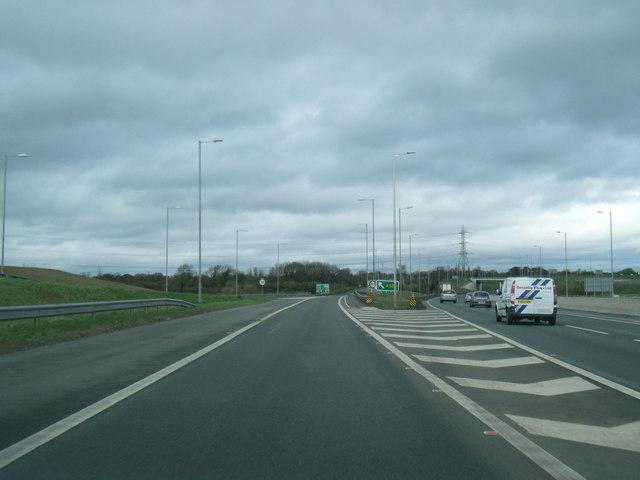 A550 road