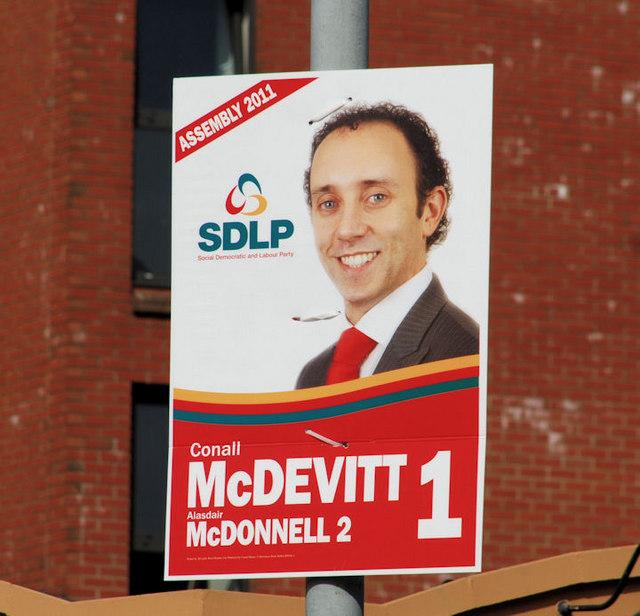 Election poster, Belfast (11) © Albert Bridge cc-by-sa/2.0 ...