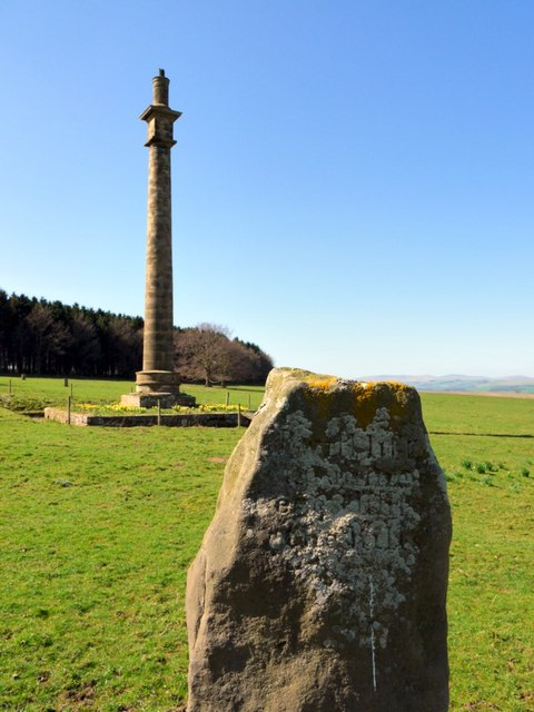 Monument from 'standing stone'