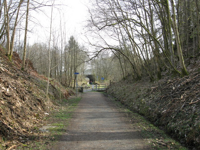 Cycle Path near Kilmahog (1)