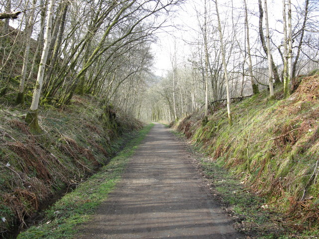 Cycle Path near Kilmahog (2)
