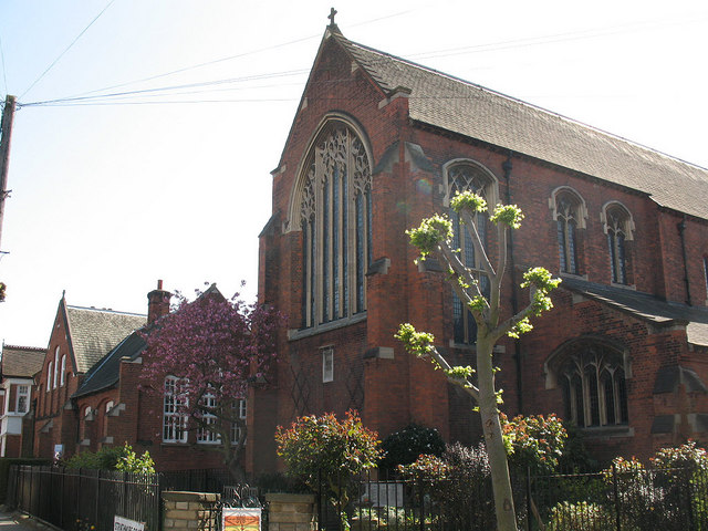 East end of St Luke's church