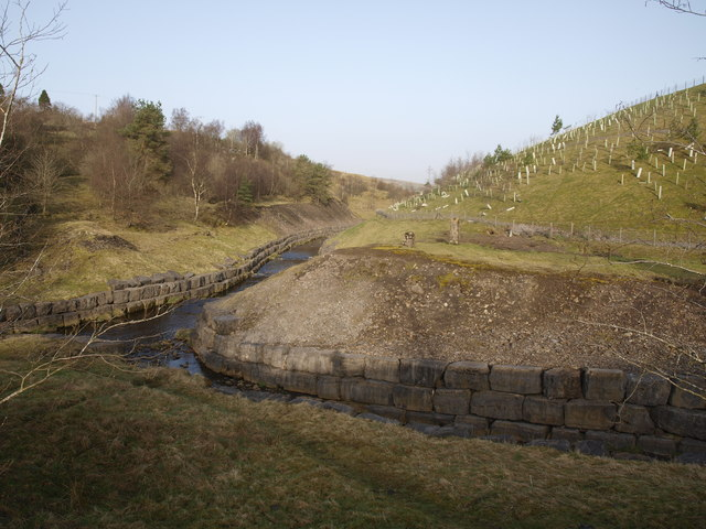 Confluence of Gudham Gill and the Nent