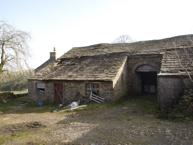 The back of Grassfield farm