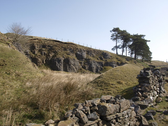 Small Quarry in Garrigill Burn