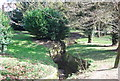 TQ8010 : Stream in Alexandra Park by N Chadwick