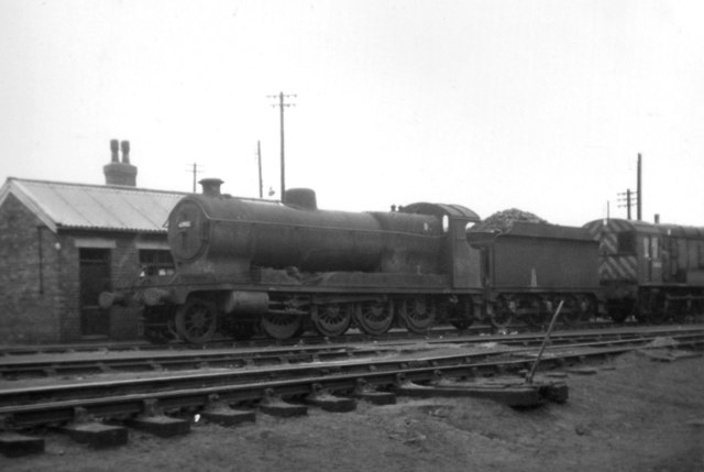 East Coast Diesel >> Steam and diesel at Langwith Junction,... © John Sutton cc ...