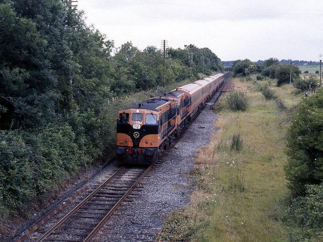 Train at Kilcock