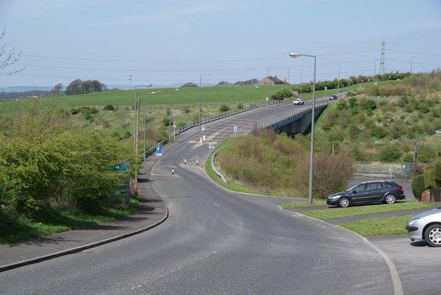 Bridge over the M65
