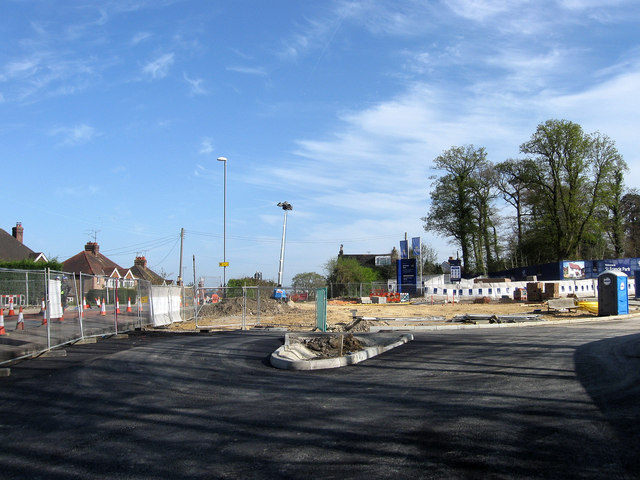 New Roundabout, Haywards Heath Relief Road (2)