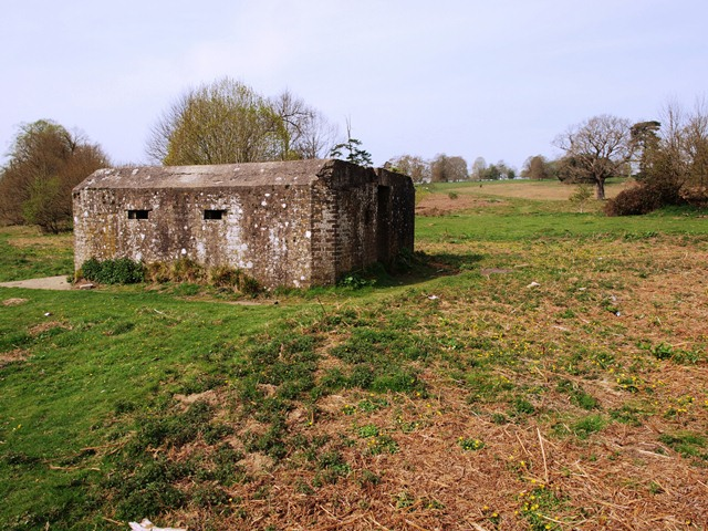World War Two Pillbox just to the west of Buxted