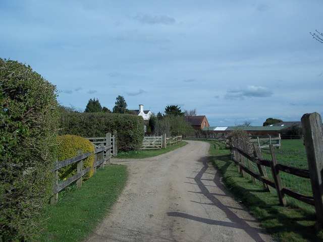 Farm lane at King's End
