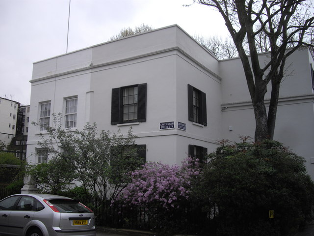 Houses at corner of Caversham and Christchurch Streets, Chelsea