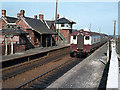 J4488 : Train at Kilroot station by The Carlisle Kid
