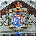 SU1429 : Coat of Arms, Matron's House, High Street, Salisbury : Week 15