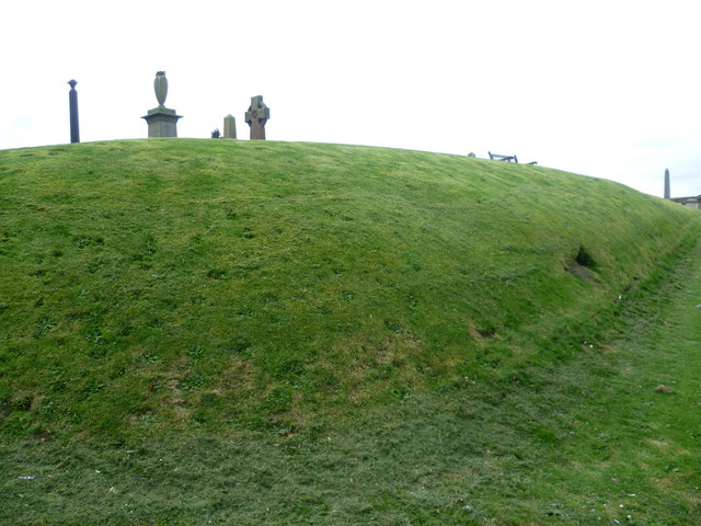 Somerset's Mound, Inveresk parish kirkyard