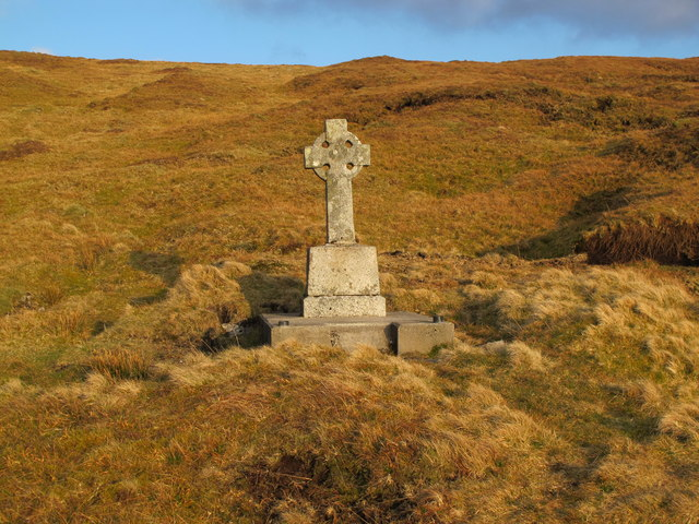 Sligo: Cross On Benwiskin