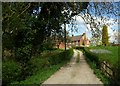 SJ7670 : Swanwick Hall Farmhouse, Goostrey by Julian Osley