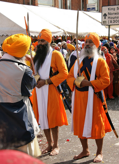 Vaisakhi procession, Southall