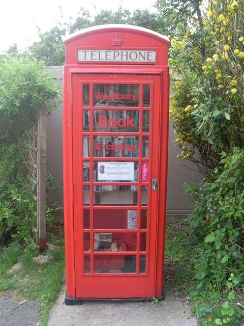 Converted Telephone Kiosk, Westbury-sub-Mendip (2)