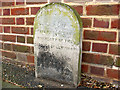TQ4073 : Boundary stone on Winn Road by Stephen Craven