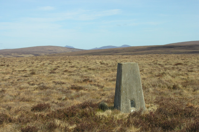Trig Point on Hope Hill