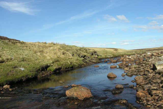 "The River Skinsdale just below ""Two Stones"""