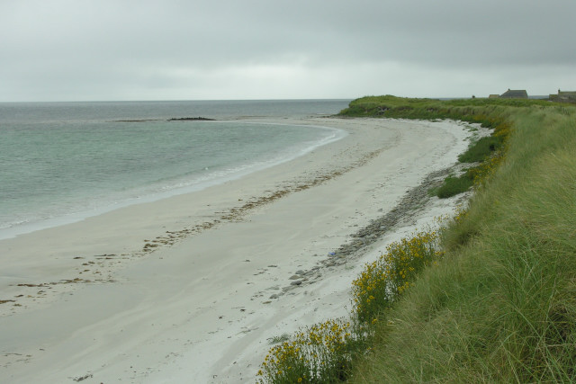Looking South to Long Taing of Newark, Sanday