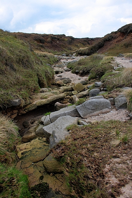 Dried Up Stream Bed, Kinder Scout