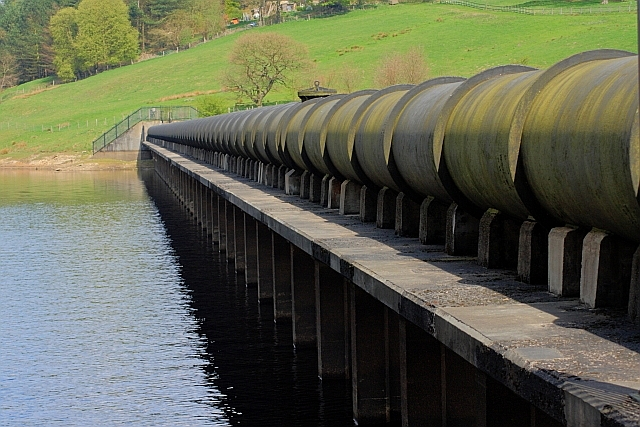 Water Pipes, Ladybower Reservoir