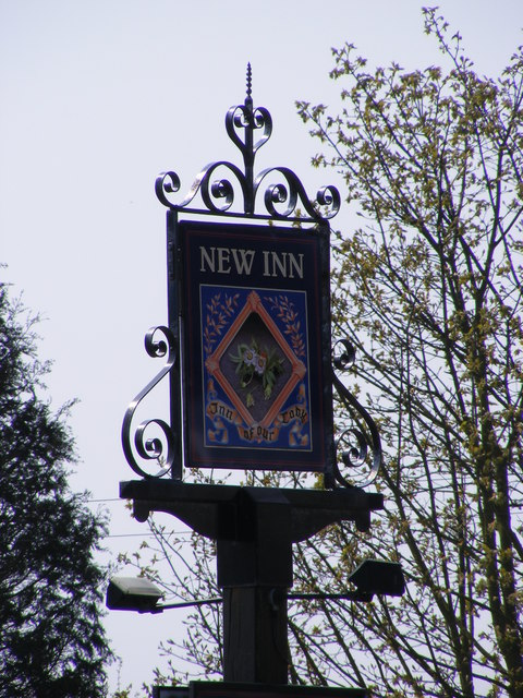 New Inn Public House sign
