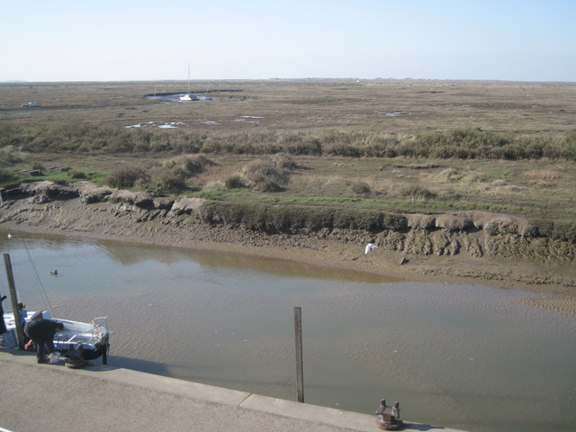 Salt marshes, Blakeney, in March: 1