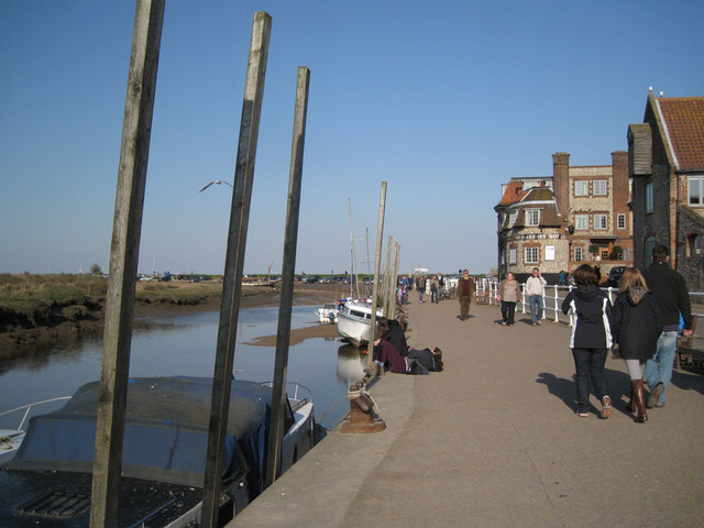 Strolling on the Quay