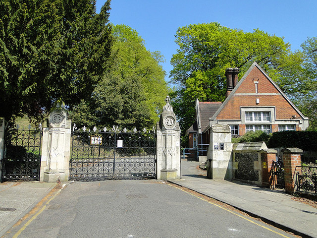 Ipswich Old Cemetery gates
