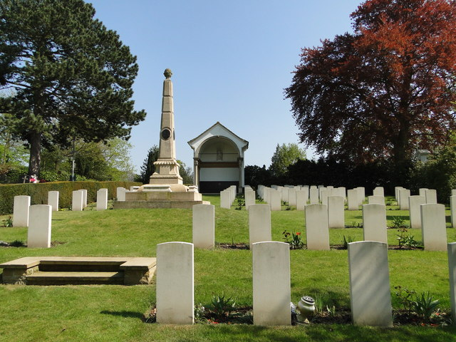 Ipswich Old Cemetery, WWI Field of Remembrance