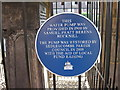 TQ7817 : Plaque on the village pump by Oast House Archive