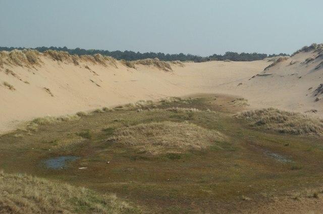 Dune slack at Raven Meols