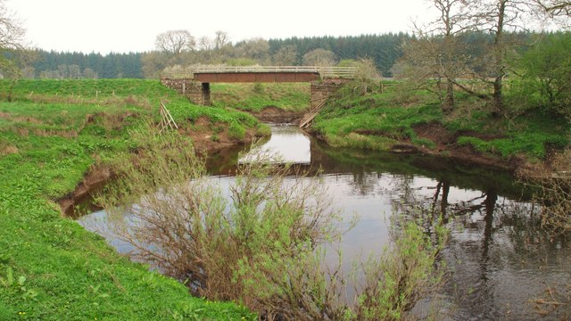 Bridge over Kelty Water at Barbadoes