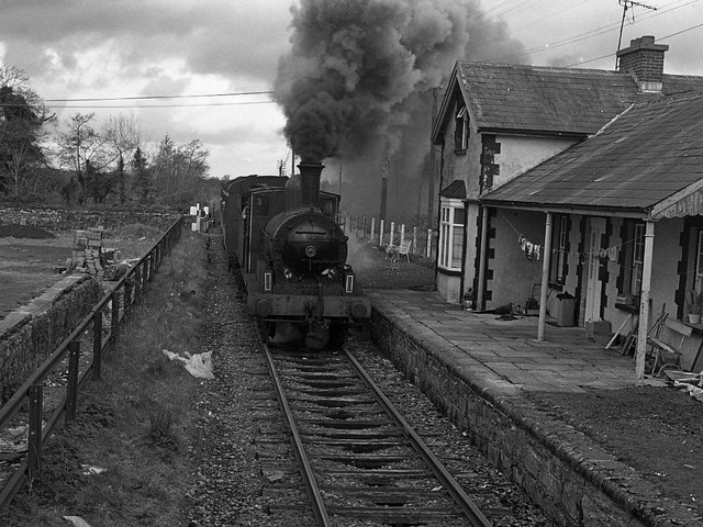 Steam Train Station Steam Train at Ballindine