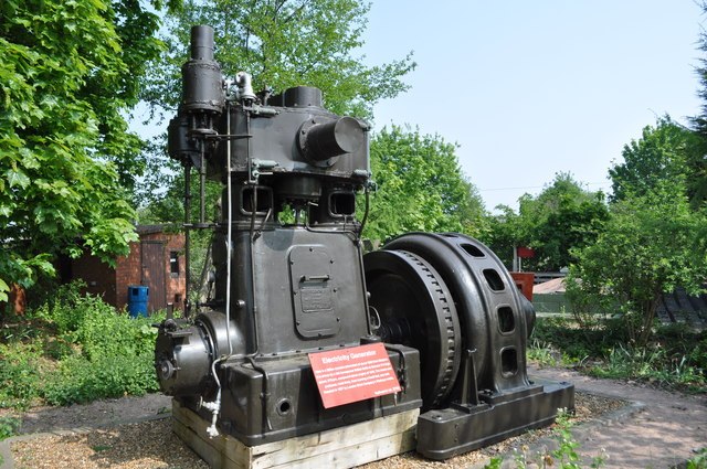 Bellis and Morcom Enclosed Steam Engine