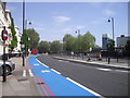 TQ3078 : Barclays Cycle Superhighway, Millbank by PAUL FARMER