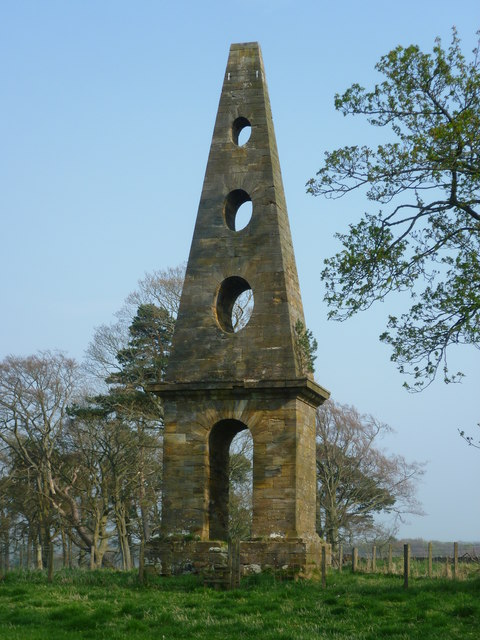 Allan Ramsay Monument, Penicuik Estate