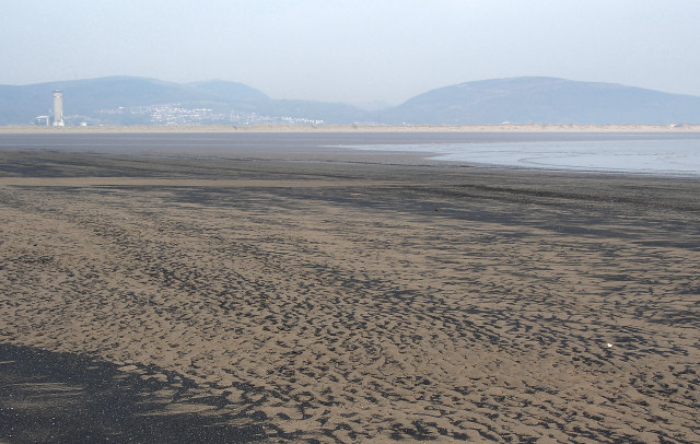 Baglan Bay at low tide