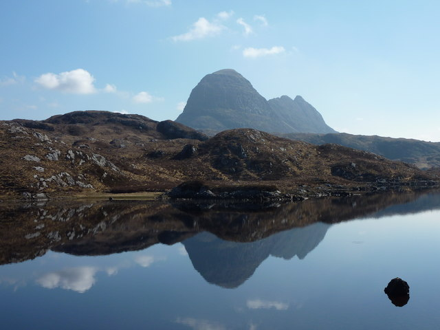 Fionn Loch and Suilven