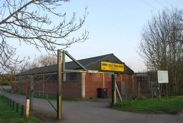 Barnet Table Tennis Centre