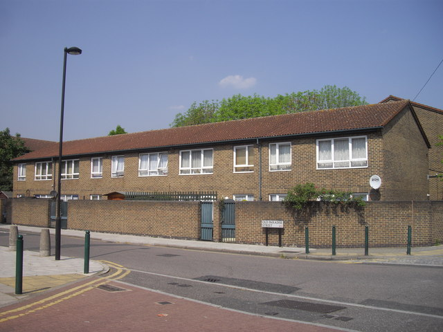 Houses in Old Paradise Street, Lambeth