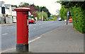J3269 : Pillar box, Belfast by Albert Bridge
